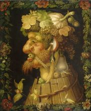 The Four Seasons: Autumn – Giuseppe Arcimboldo, oil on canvas, 1563.