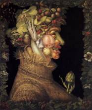 The Four Seasons: Summer – Giuseppe Arcimboldo, oil on canvas, 1563.