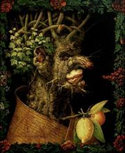 The Four Seasons: Winter – Giuseppe Arcimboldo, oil on canvas, 1563.
